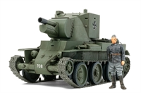 Finnish BT-42 with figure
