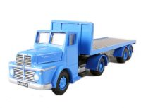 Thorneycroft sturdy artic flatbed in blue