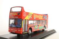 """Open top Dennis Trident/Plaxton President d/deck bus """"Lothian Transport"""" - Pre-owned - missing wing mirrors - Loose chassis - Imperfect box"""