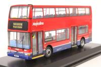 "Dennis Trident/Plaxton President d/deck bus ""Metroline"" (London)  - Pre-owned - imperfect box"