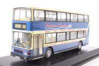 """Volvo Olympian/Alexander Royale d/deck bus """"Yorkshire Coastliner"""" - Pre-owned - missing wing mirrors - imperfect box"""