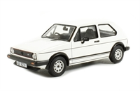 Volkswagen Golf GTI Mk1 Series 2 Alpine white