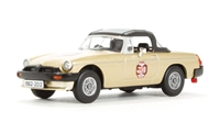 MGB - White Gold 50th Anniversary Model