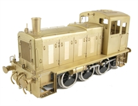 Class 03 diesel shunter with flower pot chimney in brass (Brassworks Range)