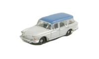 Humber Super Snipe in white & blue
