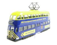 "Double deck balloon tram ""HMS Coastguard"". Production run of <2000"