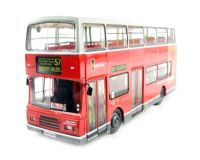 "Volvo Olympian/Alexander d/deck bus in red & white livery ""Westlink London(Route 57)"""