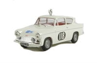 Ford Anglia 105E in 1959 RAC rally livery. Production run of <1500